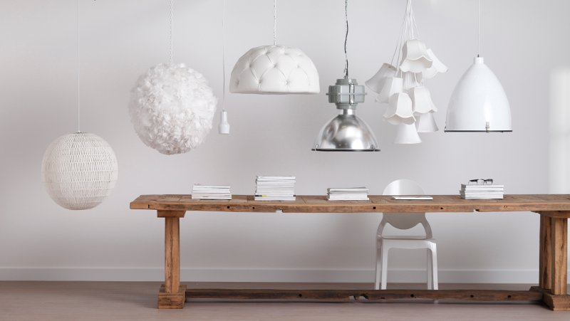 Stoere Slaapkamer Lamp : Oosterse lampen uma boven eettafel